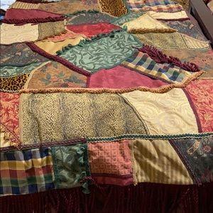 Tapestry/Throw. Handmade. EUC!